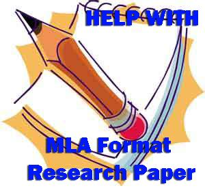 Citing in a research paper mla